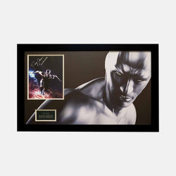 Silver Surfer: Photograph and Plaque Signed By Doug Jones - worldofsuperheroesuk