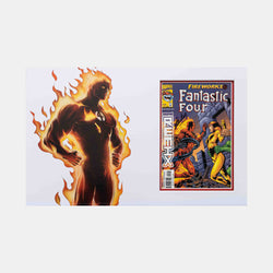 Fantastic Four Fireworks Part 2 of 3 #2 Comic - Signed by Stan Lee