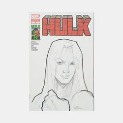 Hulk: Betty Ross Sketch Cover Original Art Framed by Andres Manuel Labrada