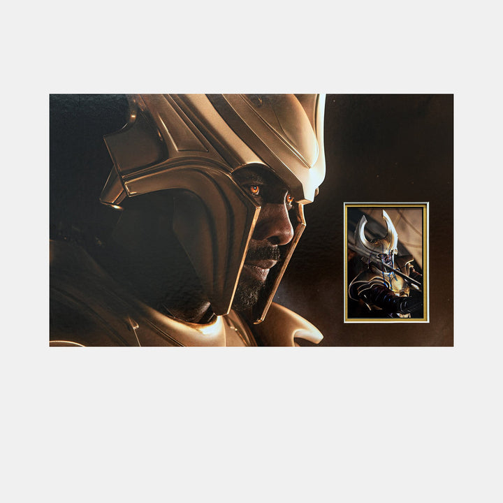 Heimdall: Photo Signed by Idris Elba (Avengers: Infinity War)