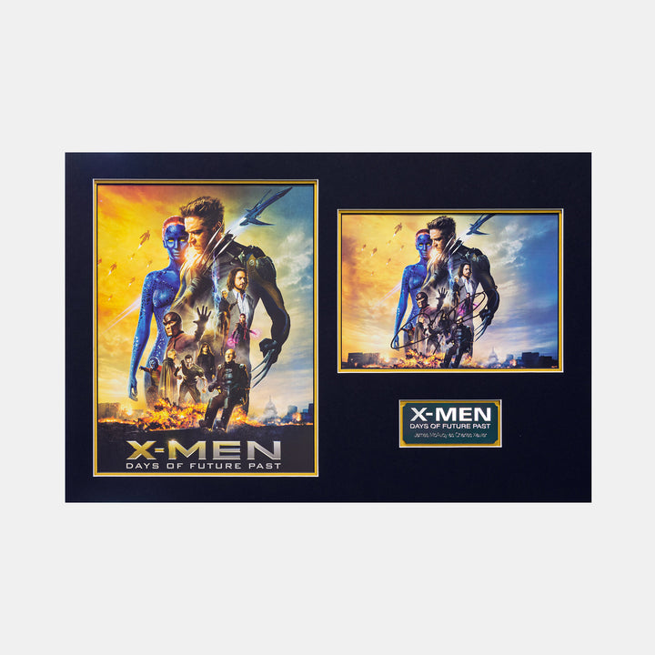 X-Men Days of Futures Past: Framed Sign Photo By James Mcavoy - worldofsuperheroesuk