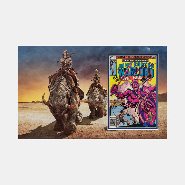 John Carter #28 Comic - Signed by Stan Lee, Marv Wolfman & Gaspar Saladino
