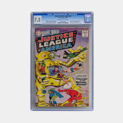 Brave and the Bold #29 - Secound appearance of the Justice League of America 1960 - CGC 7.5 - worldofsuperheroesuk