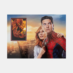 Spider-Man: Mini Poster Signed by Kirsten Dunst (2004)