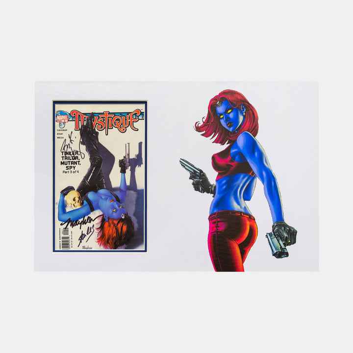Stan Lee Signed: Multi Signed Mystique Comic - worldofsuperheroesuk