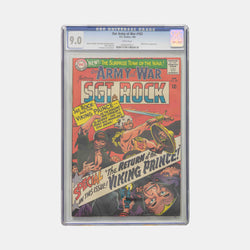 Our Army at War #162 Slabbed CGC 9.0