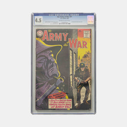 Our Army at War #91 Slabbed CGC 4.5