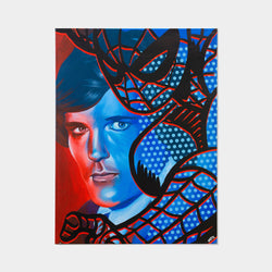 Peter Parker is Spider-Man Original Oil Painting By MUTE - worldofsuperheroesuk