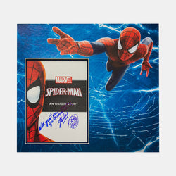 Stan Lee Signed: Spider-man An Original Story - worldofsuperheroesuk