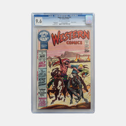 Super DC Giant #15 1970 Slabbed CGC 9.6