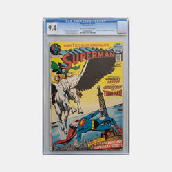 Superman #249 1972 Slabbed CGC 9.4