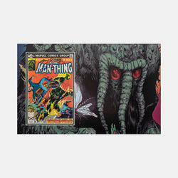 The Man-Thing Comic #10 Comic - Multi signed including Stan Lee, Roy Thomas and more