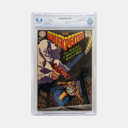 Unexpected #105 1968 Slabbed CGC 9.4