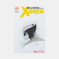 Wolverine from Megacon 2013 Sketch Cover - worldofsuperheroesuk