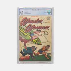 Wonder Woman #22 Slabbed CBCS 4.5