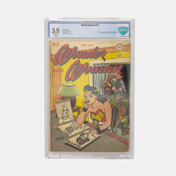 Wonder Woman #25 Slabbed CBCS 3.5