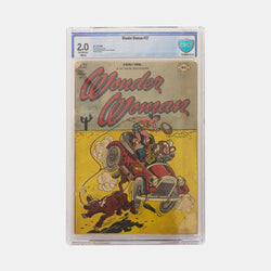 Wonder Woman #27 Slabbed CBCS 2.0