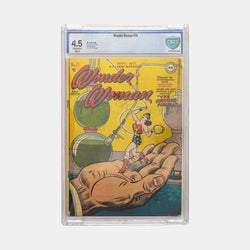 Wonder Woman #31 Slabbed CBCS 4.5