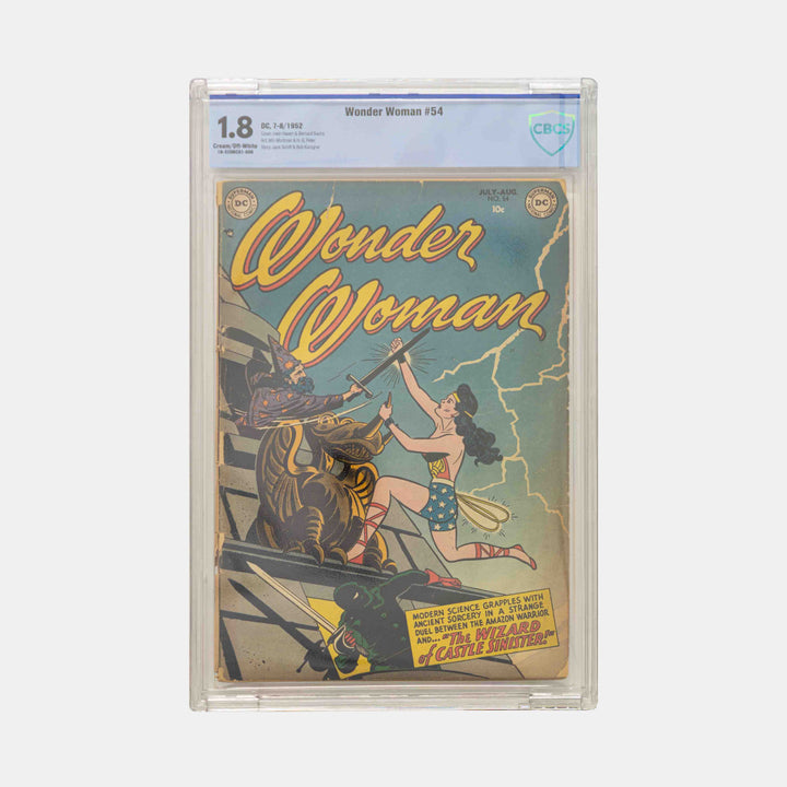 Wonder Woman #54 Slabbed CBCS 1.8
