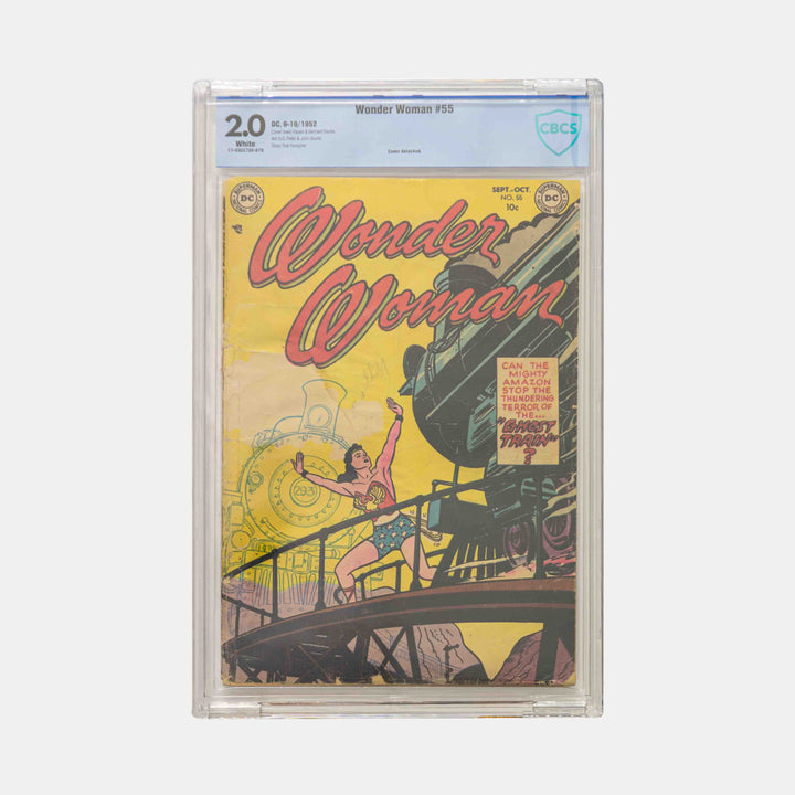 Wonder Woman #55 Slabbed CBCS 2.0