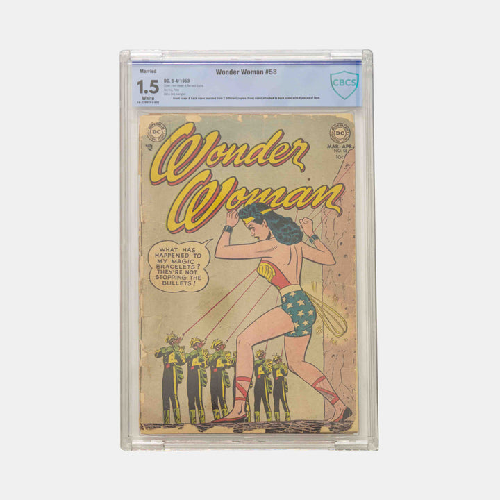 Wonder Woman #58 Slabbed CBCS 1.5