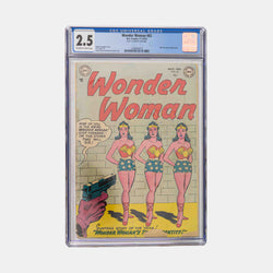 Wonder Woman #62 Slabbed CBCS 2.5