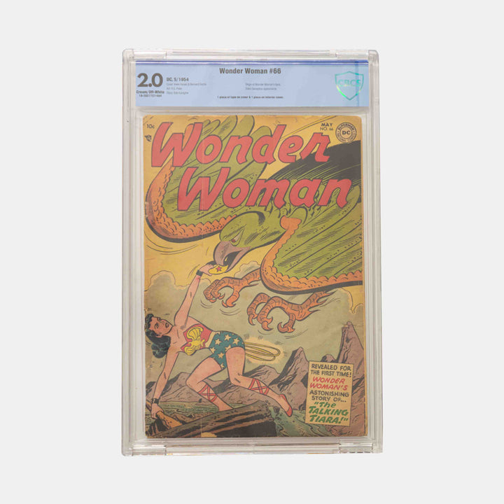 Wonder Woman #66 Slabbed CBCS 2.0