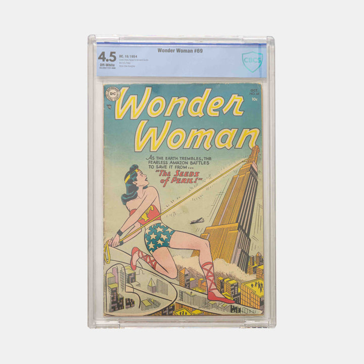 Wonder Woman #69 Slabbed CBCS 4.5