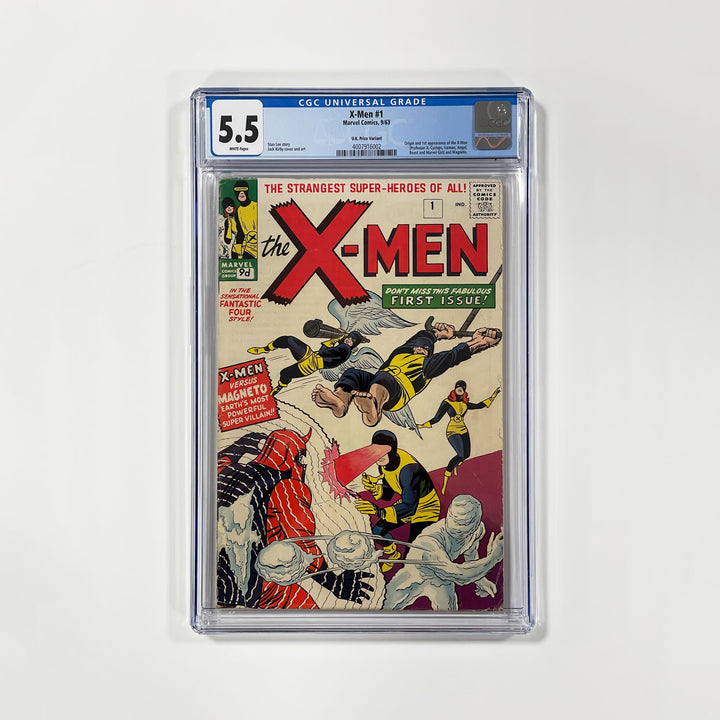 X-Men #1 - First appearance and origin of the X-Men - CGC 5.0 - worldofsuperheroesuk