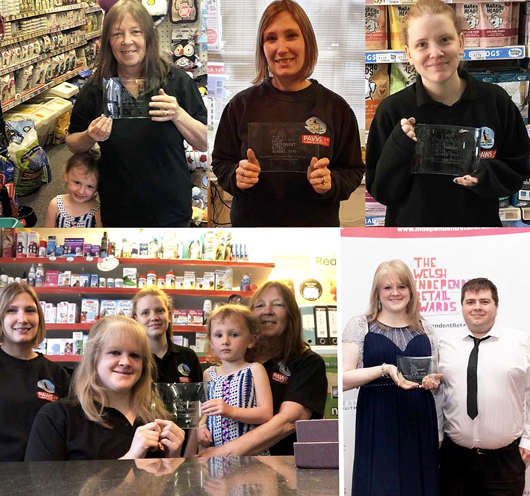 Didn't we do well - Pet Shops win 3 Awards in 2019