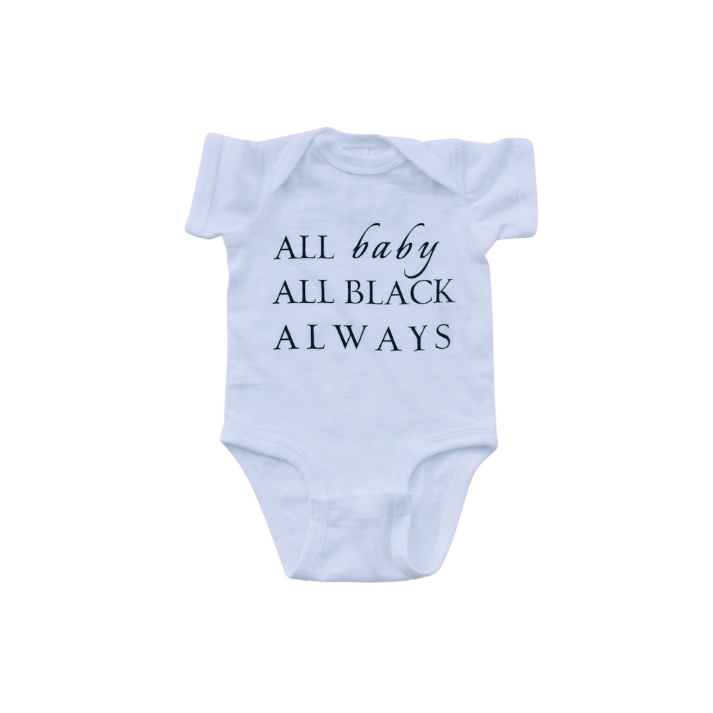 statement baby onesie