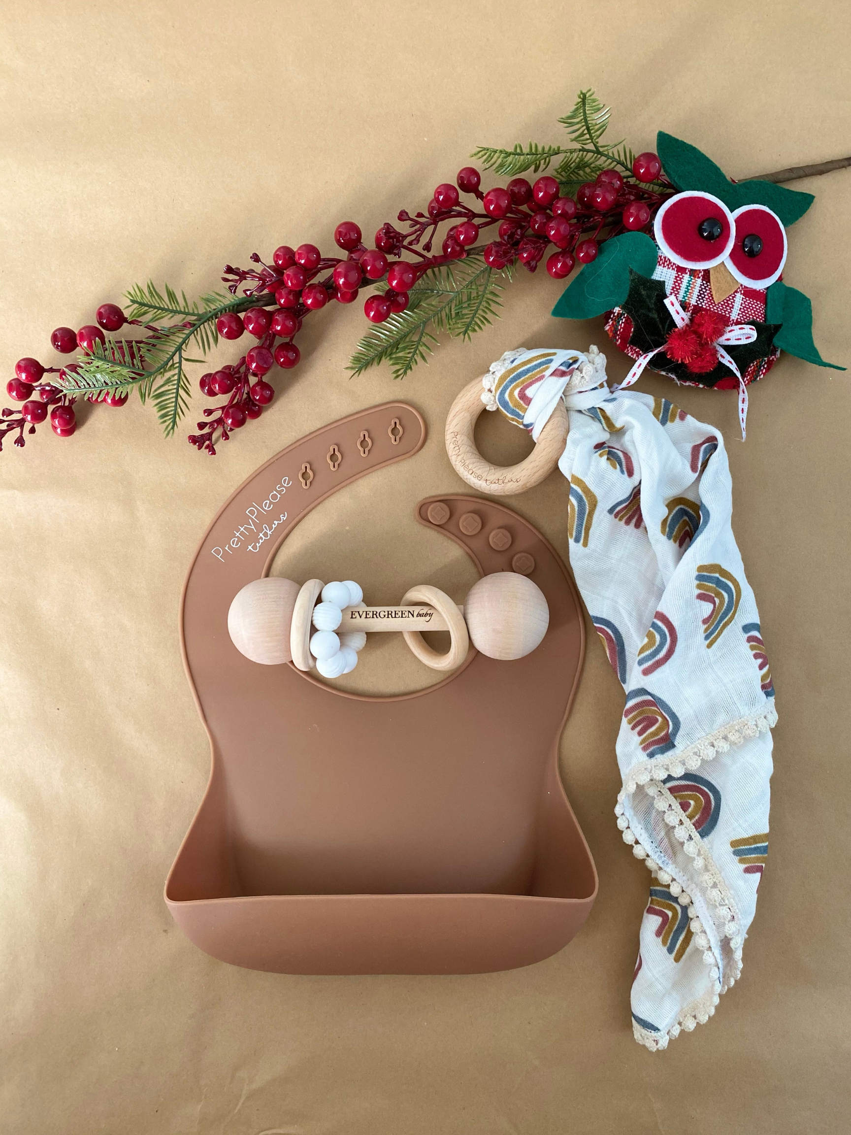 Baby Gift Bundle || Brown