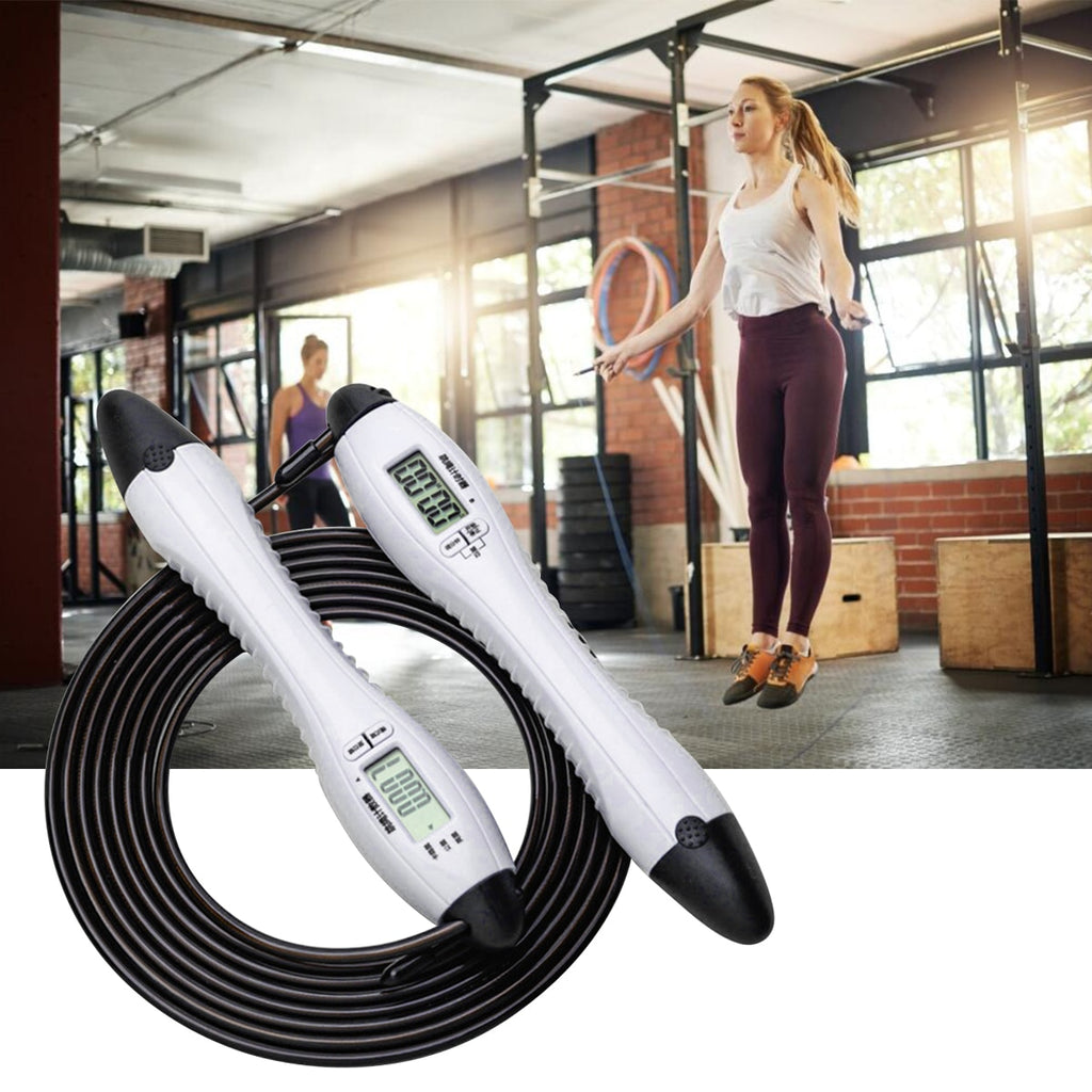 Adjustable 2.8m Digital Counting Jump Rope