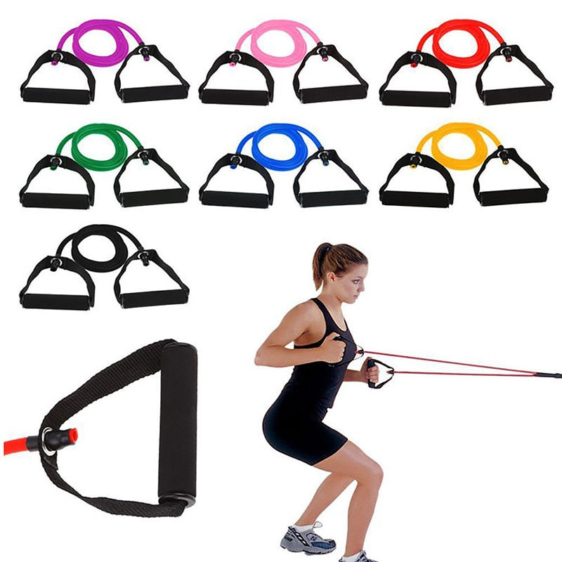 Yoga Pull Rope Elastic Resistance Fitness Equipment