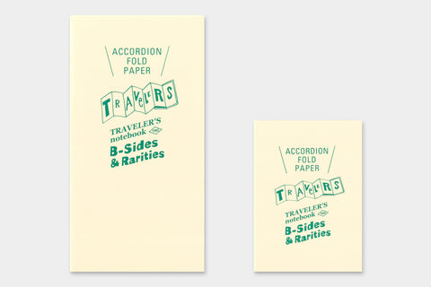 Traveller's Notebook - Accordion Fold Paper