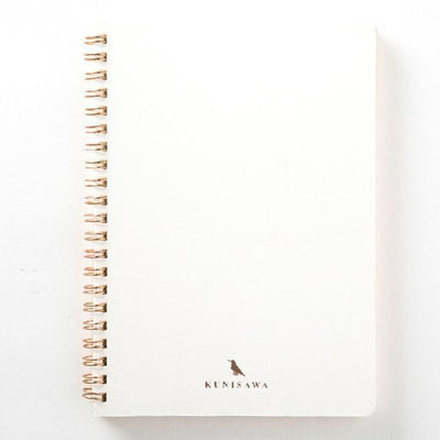 Kunisawa - Find Ring Note A5 - White-Notitieboek-DutchMills