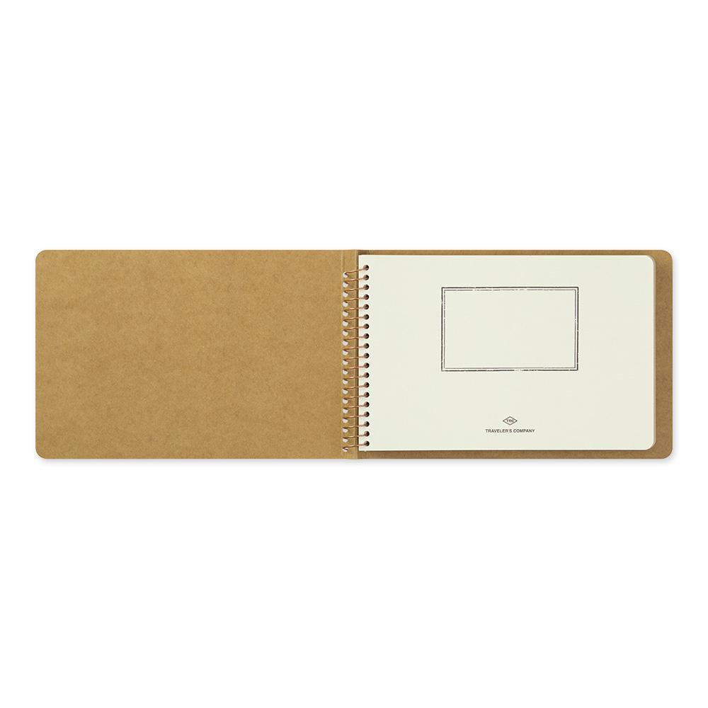 TRAVELER'S Company - Spiral Ring Notebook - (B6) Blank DW Kraft Paper-Spiraalboek-DutchMills