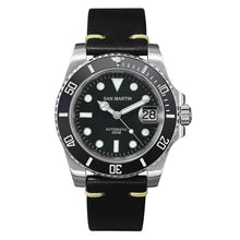 Load image into Gallery viewer, San Martin Diver Water Ghost Luxury Sapphire Crystal Men Automatic Mechanical Watches Ceramic Bezel 20Bar Luminous Date Window