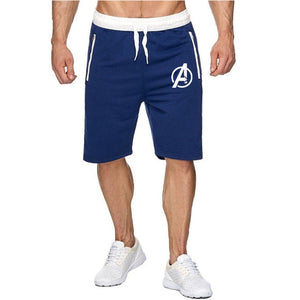 Mens New Sport Running Shorts Summer Men Latest Movie Avengers Endgame Beach Fitness Sports Shorts Fashion Clothing Homme