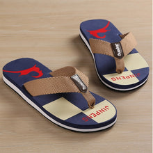 Load image into Gallery viewer, Summer Men Flip Flop Shoes High Quality Beach Holiday Sandals Non-slide Male Slippers Men Flats Casual Shoes free delivery