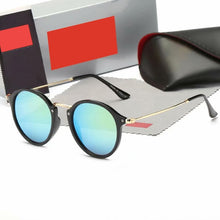 Load image into Gallery viewer, Superior quality New 2020 Fashion Classic Vinatge 2447 Round Style rayeds Sunglasses Men Women Brand Design Sun Glasses Oculos