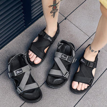Load image into Gallery viewer, Casual Men Sandals Summer Shoes Sandal Mens Sandles Outdoor Breathable Comfort Slip on Plus Size Open Shoes Sandalias Hombre EVA
