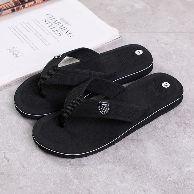 ZYYZYM Flip Flops Men Slippers Summer Anti-skid Outdoor Light Casual Beach Male Sandals Household Slipper