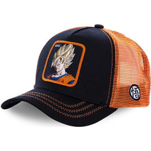Load image into Gallery viewer, Newest Dragon Ball Mesh Hat 8 New Style Trucker Baseball Cap High Quality Curved Brim Snapback Cap Gorras Casquette Dropshipping