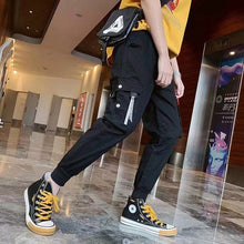 Load image into Gallery viewer, Men Fashion Sporty Pants For Hiphop Causal Runnings Pants High Street Jogger Pants New Pocket Trousers