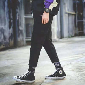 Men Fashion Sporty Pants For Hiphop Causal Runnings Pants High Street Jogger Pants New Pocket Trousers