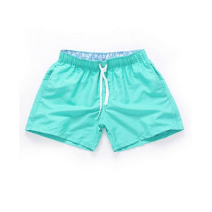 Men Summer Casual Shorts Quick Drying Fitness Short homme Beach Shorts Men Women Boardshorts Elastic Waist Solid gym Clothing