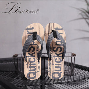 2020 New Arrival Summer Slipper Male Tide Cool Korean Slippers Fashion Outdoor Individuality Anti-slip Man Flip-flops Beach Shoe