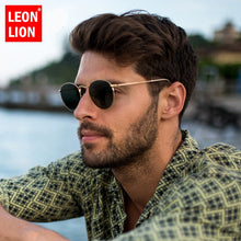 Load image into Gallery viewer, LeonLion 2020 Fashion Retro Sunglasses Men Round Vintage Glasses for Men/Women Luxury Sunglasses Men Small Lunette Soleil Homme