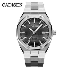 Load image into Gallery viewer, CADISEN Design Brand Luxury Men Watches Mechanical Automatic Blue Watch Men 100M Waterproof Casual Business luminous Wristwatch